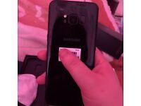 Samsung galaxy S8 black 64gb