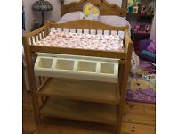 Lovely Mamas and Papas Changing unit with bath