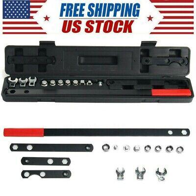 16Pcs Gear Wrench Serpentine Belt Tension Tool Automotive Repair Set Sockets Kit