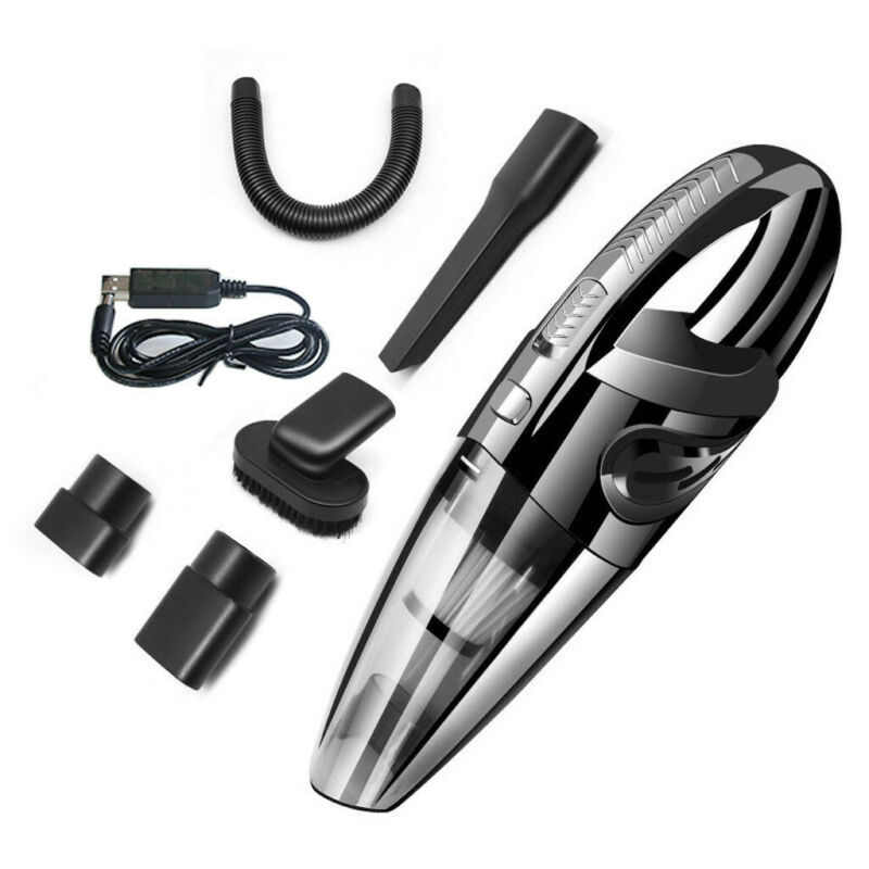 Portable Rechargeable Vacuum Cleaner Wet Dry Cordless 120W F