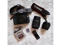 Canon 600D Bundle (worth £600)