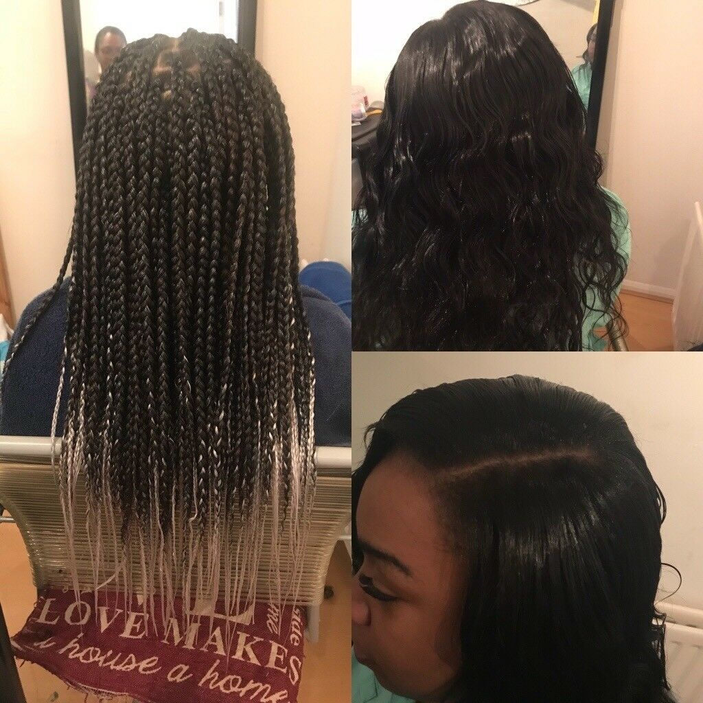 Afro Caribbean And Caucasian Hair Stylist For Braids Box Braids