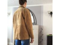 Suede Jackets for sale. 1 brown, 1 tan coloured, size 14