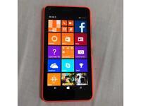 Nokia 640 orange 8gb unlocked very good condition