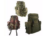 Northern Ireland Army Patrol Pack 38ltr Training Bag Airsoft Cadet Rucksack Kom