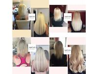 Stunning hair extensions - mobile service and same day appointments available 💙