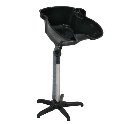 Pro Portable Shampoo Basin Height Adjustable Salon Hair Treatment Bowl Black New Backwash Units & Shampoo Bowls