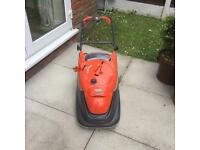 FLYMO COMPACT 330 LAWNMOWER LARGE GRASS BOX EX CON £49