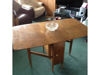 Occasional Drop Leaf Dining Kitchen Oak Table