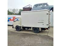 Left hand drive Nissan Cabstar SD25 2.5 diesel 3.5 Ton Cold Room box lorry.
