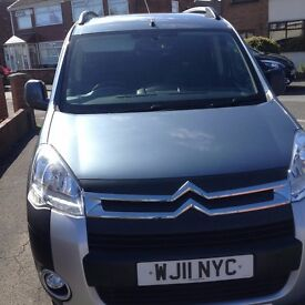 WHEELCHAIR ADAPTED CITROEN BERLINGO XTR HDI GREY