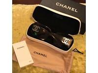 Genuine Chanel sunglasses.
