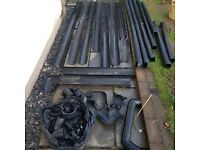 Job lot of Guttering, Downpipes and Joining Pieces