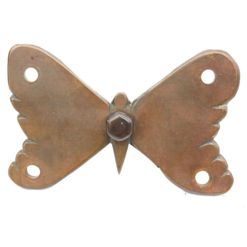 Antique Victorian Butterfly Architectural Hardware c. 1870s - Aesthetic Movement