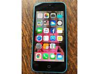 iPhone 5c Sky Blue £55