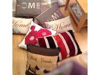 Beautiful high street cushions M&S etc