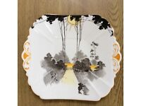 Shelley plate and Spode dish