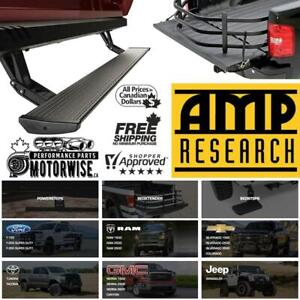 AMP Research Running Boards, Power Side Steps, Bed Extenders, Bed Step, Electric Running Boards | Motorwise.ca