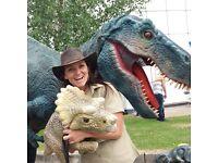Interactive Dinosaur Hire