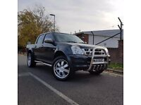 Stunning isuzu rodeo Denver double cab 4x4, full leather interior, automatic, clean,tidy inside out,