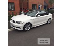 **urgent!** BMW e88 1 series M-sport coupe convertible for sale