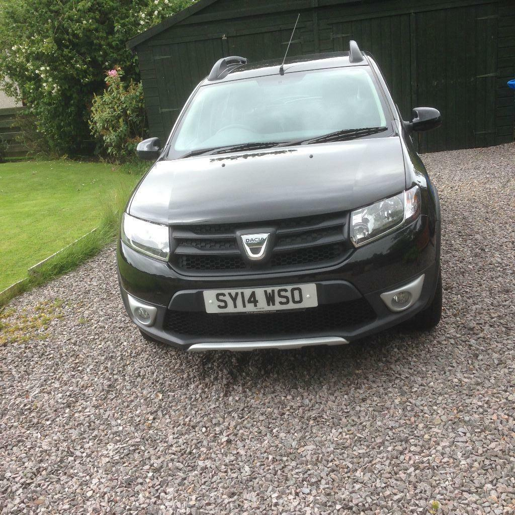 2014 dacia sandero stepway black in nairn highland. Black Bedroom Furniture Sets. Home Design Ideas