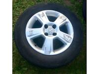 Quick Sale Alloy Wheels Vauxhall Corsa Tyre