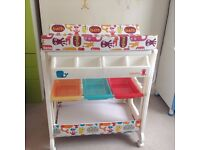 Beautiful Changing unit - Cosatto for baby girl , excellent condition with a small bath
