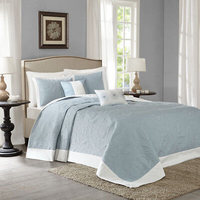 Madison Park Ashbury 5 Piece Reversible Bedspread Set