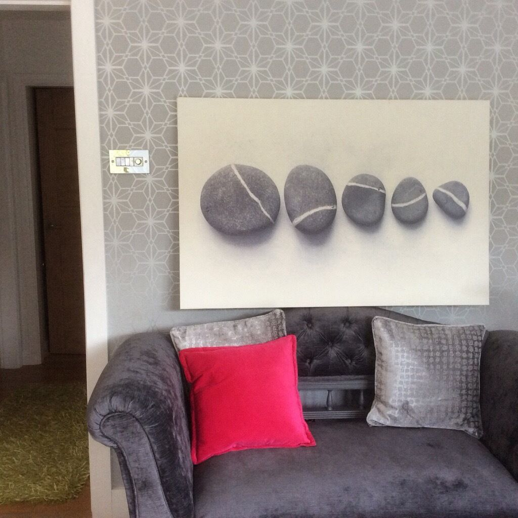 Large Ikea 39 Pebbles 39 Canvas 118cm X 78cm In Leicester