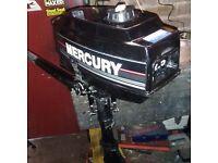 Mercury 2.5hp outboard motor
