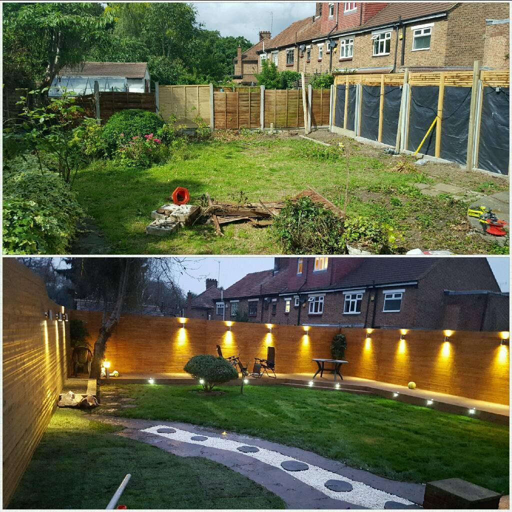 gardener and garden design decking
