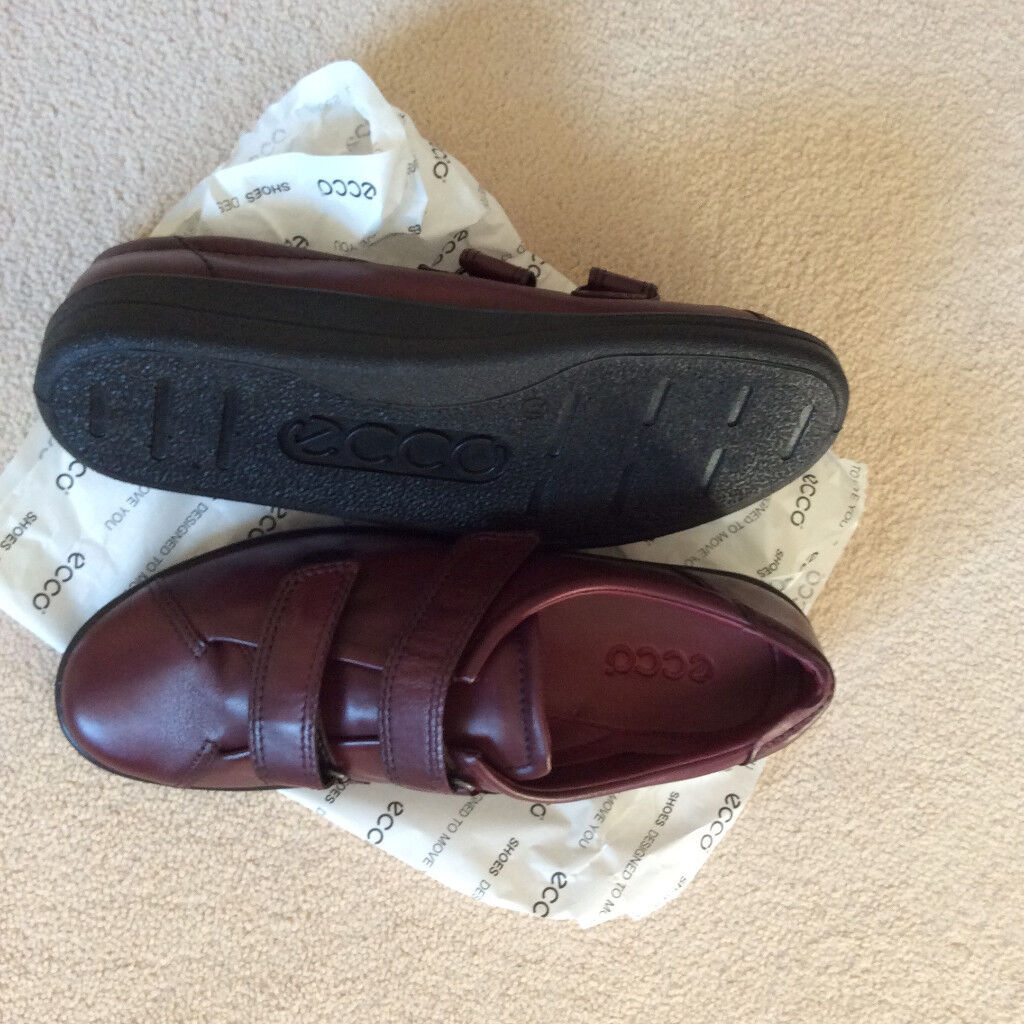 the latest 1333c 2cb32 BRAND NEW LADIES ECCO SOFT LEATHER STRAP SHOES....SIZE 41 | in Colwyn Bay,  Conwy | Gumtree