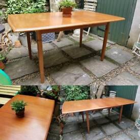 Vintage Teak Dining Table by Meredew