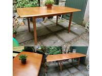 Vintage Teak Dining Table by Meredew