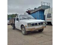 Left hand drive Isuzu KBD 27 4X2 2.3 diesel pick up. 5 speed manual gearbox.