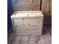 hand made solid wooden box