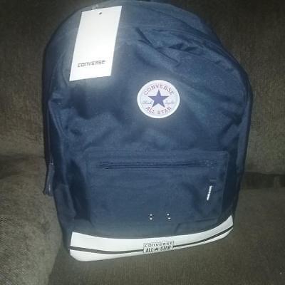 NEW KIDS BLUE CONVERSE SCHOOL BACKPACK BOOKBAG ALL STAR 9A5298-B9P