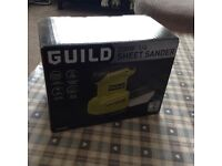 Sheet sander never used brand new in box cost £29.99 new