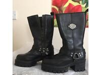 Harley Davidson boots ladies UK3/4