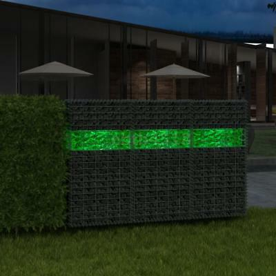 Gabione Gartensteine Glas Grün 60-120 mm 25 kg Steingabionen mit Dekosteine E4B7