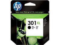 HP black ink cartridge 301XL