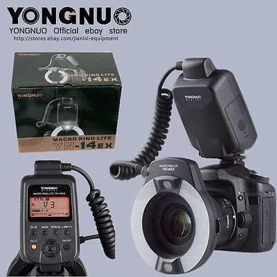YONGNUO YN-14EX TTL Macro Ring Flash speedlite YN-14EX for Canon camera