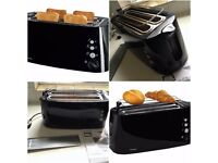 Double Long Slot Toaster (upto 4 breads) clean with manual, please read for details
