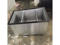 x2 50L Insulated Ice Wells - Restaurant, Bar, Hotel, Pub, Cafe, Deli