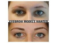 Eyebrow Microblading Models Required for Top Semi-Permanent Makeup Company