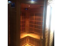 Deluxe Infrared Sauna 4 Seater