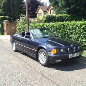 BMW 318 i convertible bargain