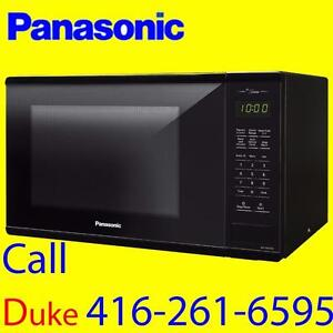 Panasonic 1.3 Cu. Ft. Counter top Microwave - BLACK - $ 70.00