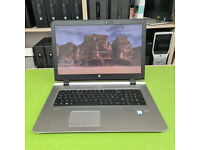 Hp Probook 470 G3 Intel i3 6th gen CPU 2.3GH 8GB Ram 128 GB SSD window 10